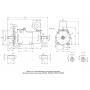 Электродвигатель МТКН Ф2П 312-8 1,9|11|11 кВт. 130|735|1465 об/мин