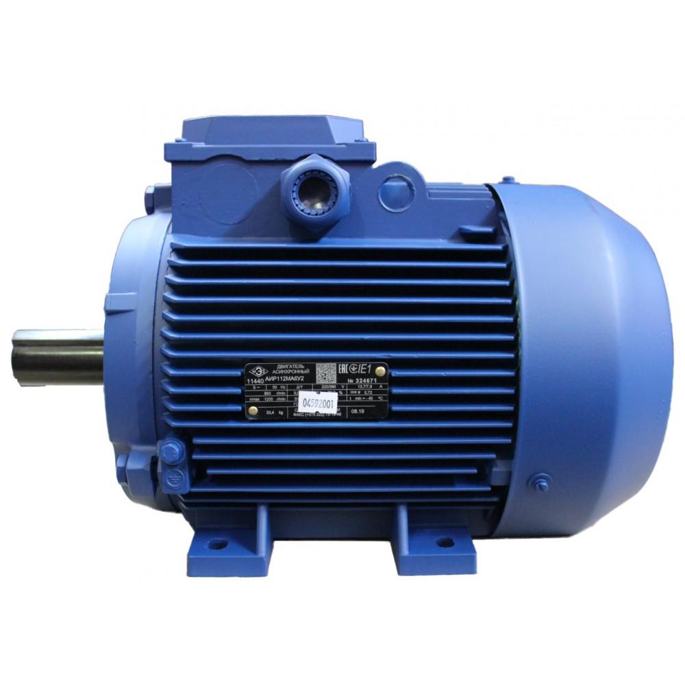 Электродвигатель АИР 100 N4РЗ, S6-60% 6,3 кВт, 1410 об/мин