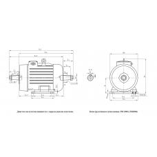 Электродвигатель  МТКН 411-6 22 кВт. 935 об/мин