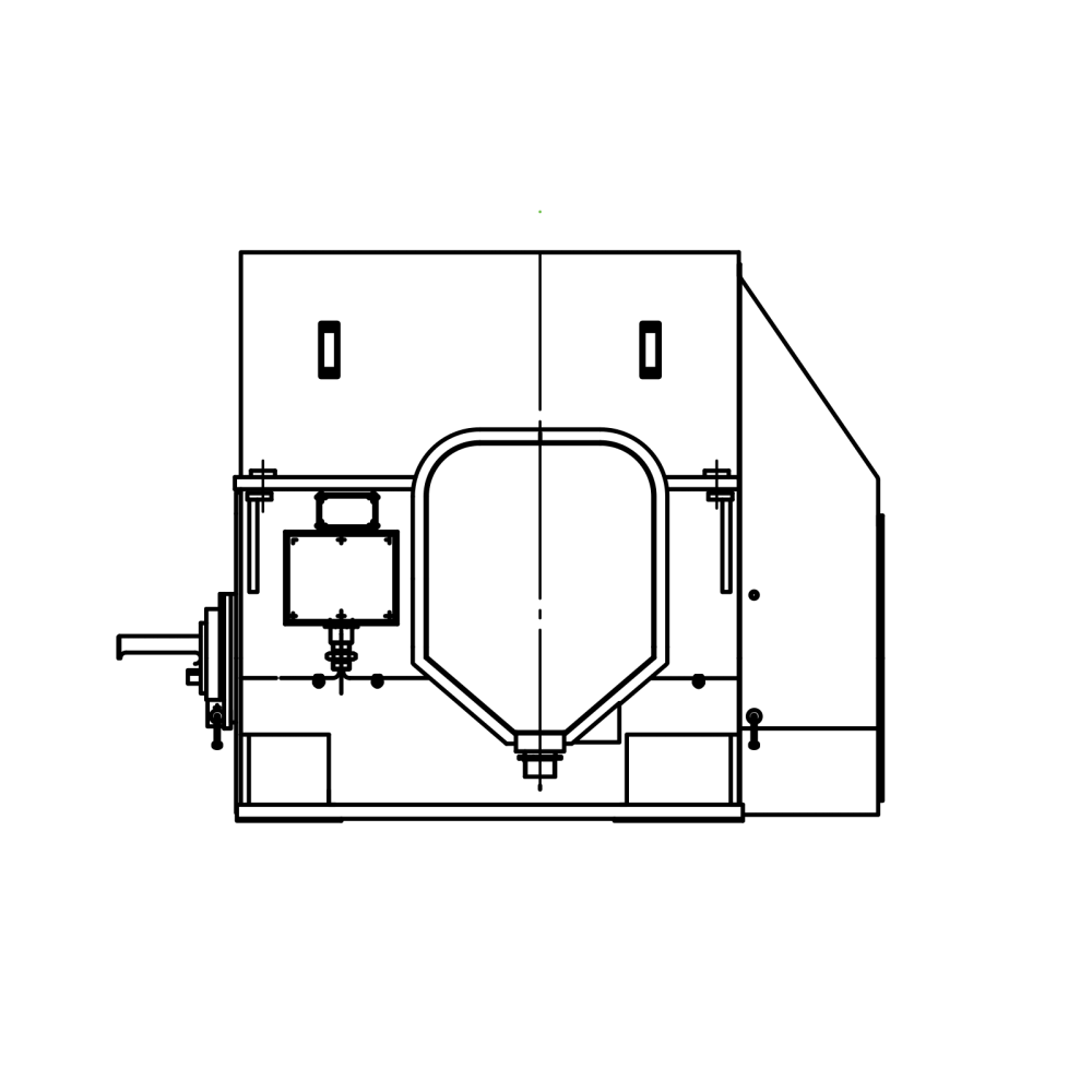 Электродвигатель  ДАЗО-400Х-6У1   315 кВт, 1000 об/мин